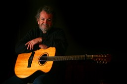 Andy Irvine with Bouzouki. photo © Brian Hartigan