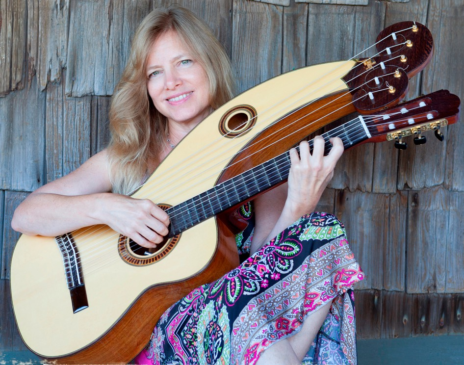Muriel-Anderson-harp-guitar-photo-by-Bryan-Allen