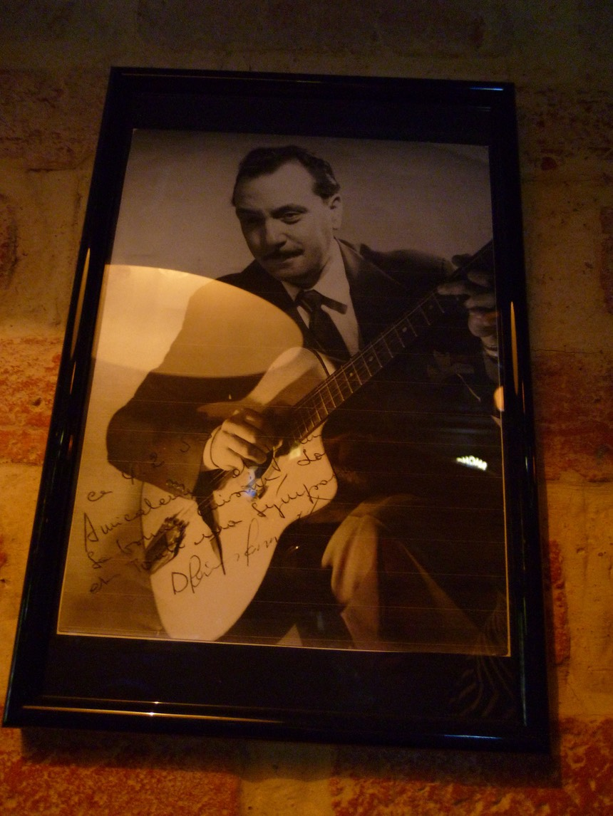 A Picture of Django Reinhardt