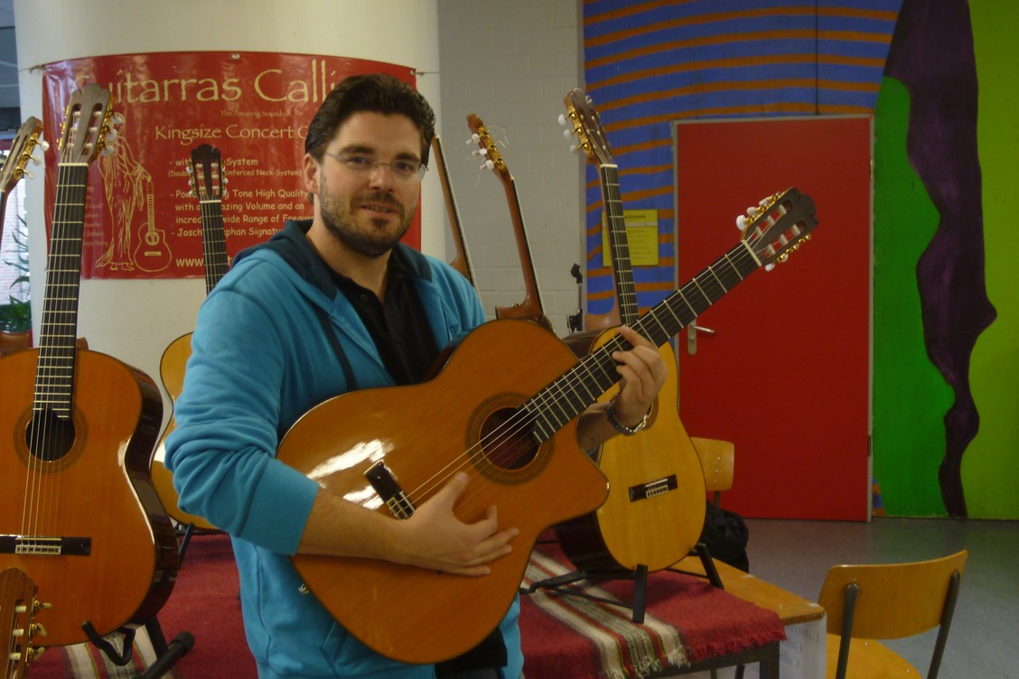 "Joscho Stephan with Guitarras Calliope ""Joscho Stephan Signature Model"""