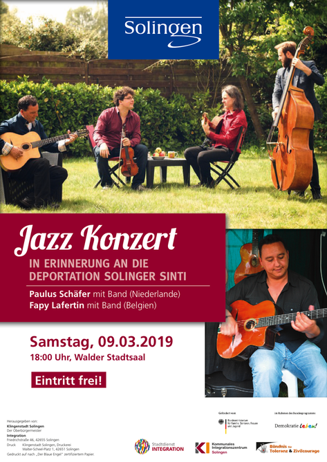 Plakat Jazz-Konzert eBook