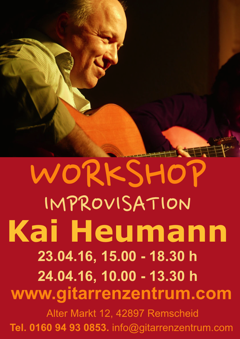 Plakat Workshop Improvisation Din A3 hoch