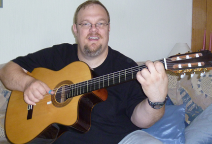 Richard Smith with Guitarras Calliope, Modelo Orfeo 1